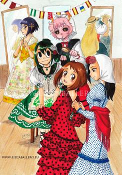 Boku no Hero Academia - International Patrol girls