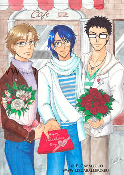 The Meganes - Valentines Day version