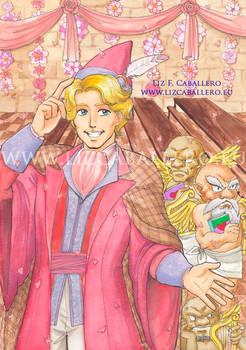 Gilderoy Lockhart's Valentines Day party