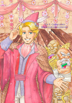 Gilderoy Lockhart's Valentines Day party