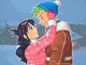 Winter Zoro x Tashigi