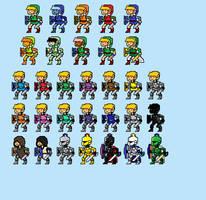 Knight Sprites