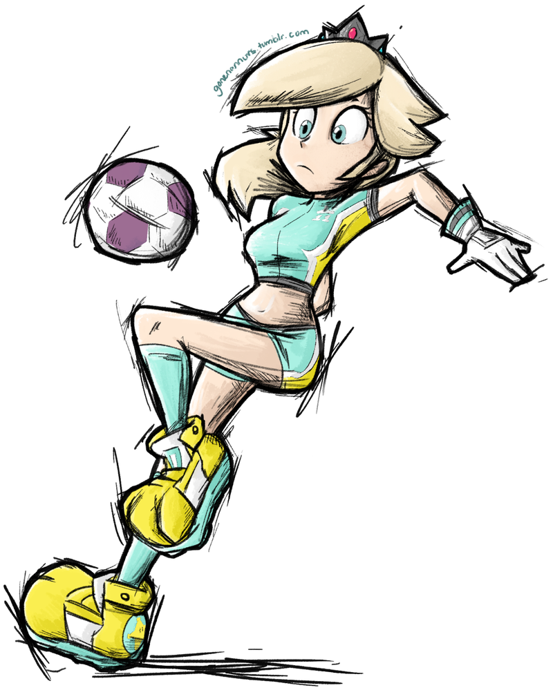 Super Mario Strikers Rosalina By Gonenannurs On DeviantArt