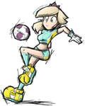 Super Mario Strikers Rosalina