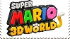 Super Mario 3D World Stamp by GameAndWill