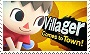 Villager Smash Stamp by GameAndWill