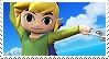 Toon Link ssb4 Stamps by GameAndWill