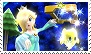 Rosalina And Luma Stamp by GameAndWill