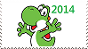 Year of Yoshi Stamp by GameAndWill