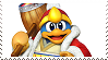 King DeDeDe SSB4 Stamp by GameAndWill