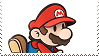 Ssb4 Paper Mario Supporter Stamp by GameAndWill