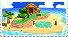 Island 3DS Stage Stamp by GameAndWill