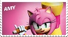 Amy Rose- Sonic Boom Style Stamp by GameAndWill