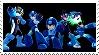 Mega Man Smash Stamp by GameAndWill