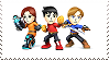 Mii Fighter Stamps by GameAndWill