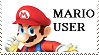 Mario SSB4 User Stamp by GameAndWill