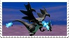 Mega Charizard X Stamp by GameAndWill