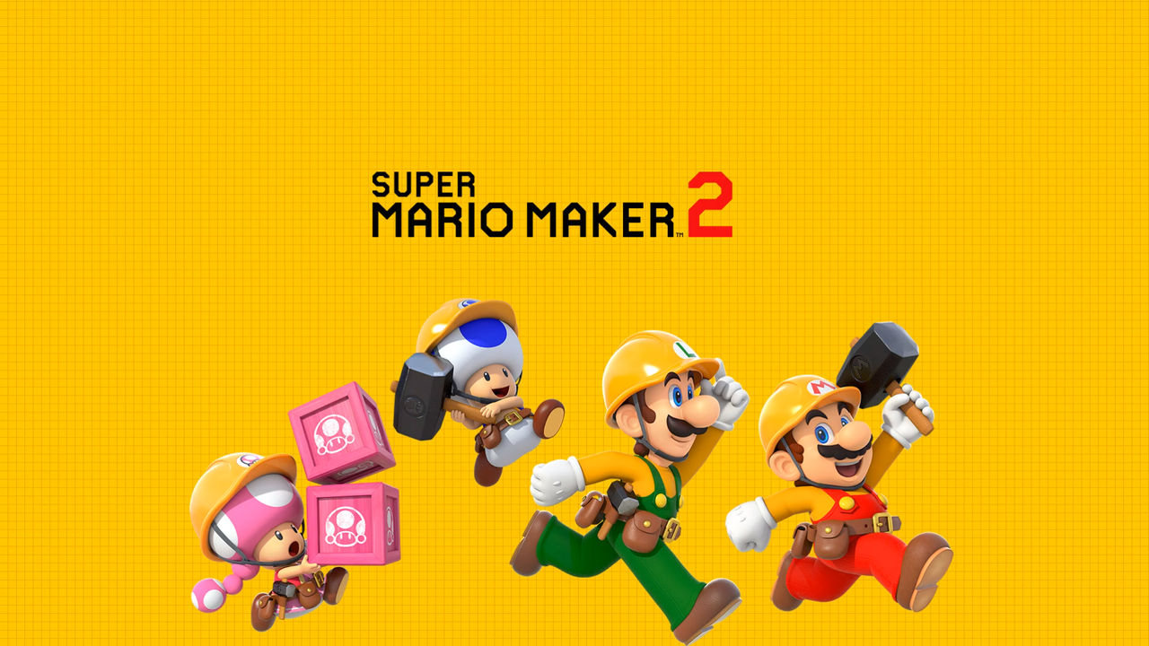 Super Mario Maker 2 Wallpaper By Gameandwill On Deviantart