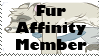 Fur Affinity Member Stamp by kitty-chan