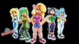 Tawna and the Nitro Squad - RENDER