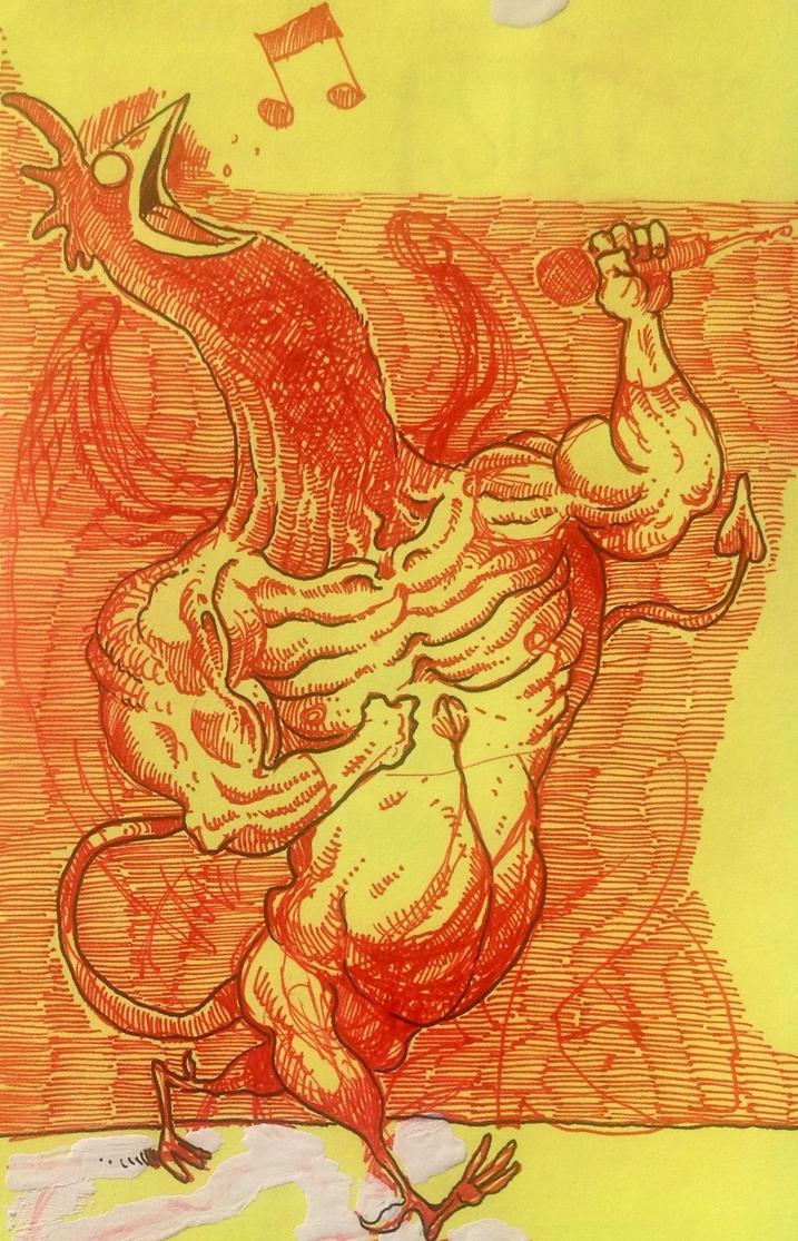 EL GALLO (The Cock) by Christian-Attridge