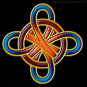 Celtic knot pattern 02