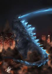 Godzilla - The King of the Monsters. by NiaChan