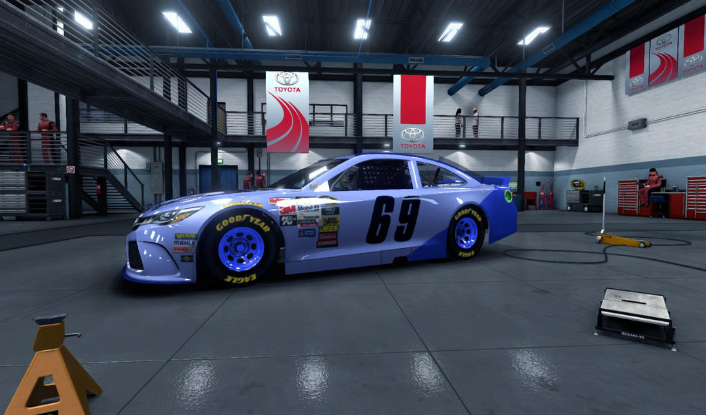 The #69 Aeon-of-Dreams Toyota Camry by AdmiralofKingsford
