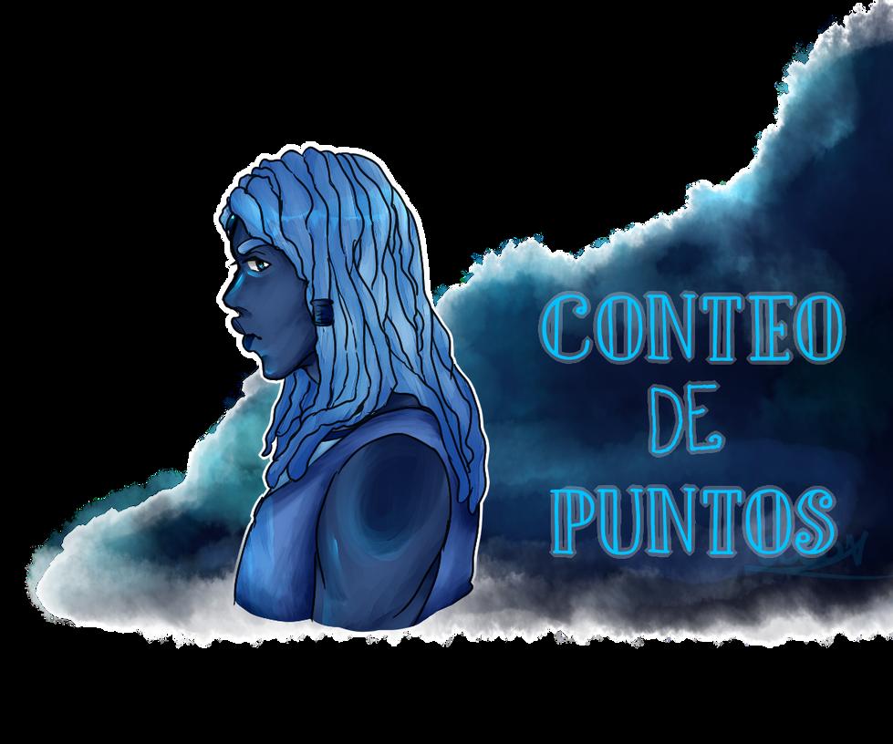 .:G-U:.  Conteo de Puntos: Agata azul by CoteCosas