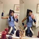 Legend of Korra Cosplay Selfie