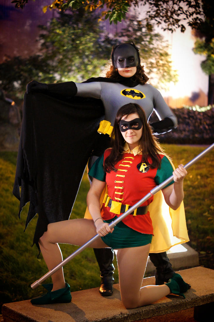 Batman And Robin by CosplayInABox
