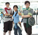 Legend of Korra Cosplay | Mako, Korra, and Bolin
