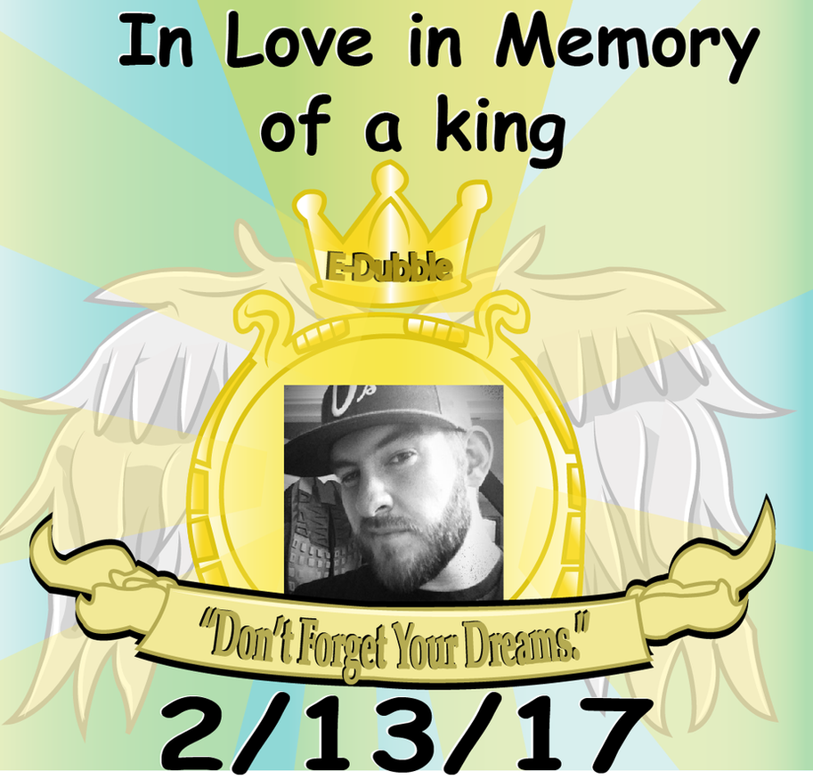 In memory of a King by ThunderRushFly