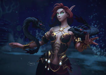 In Azshara's armor by schneissy