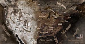 Contamination U.S.A. Map