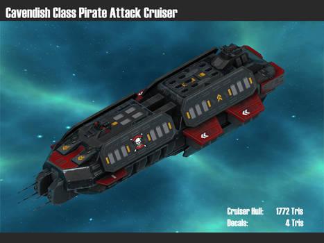 Cavendish Class Pirate Attack Cruiser