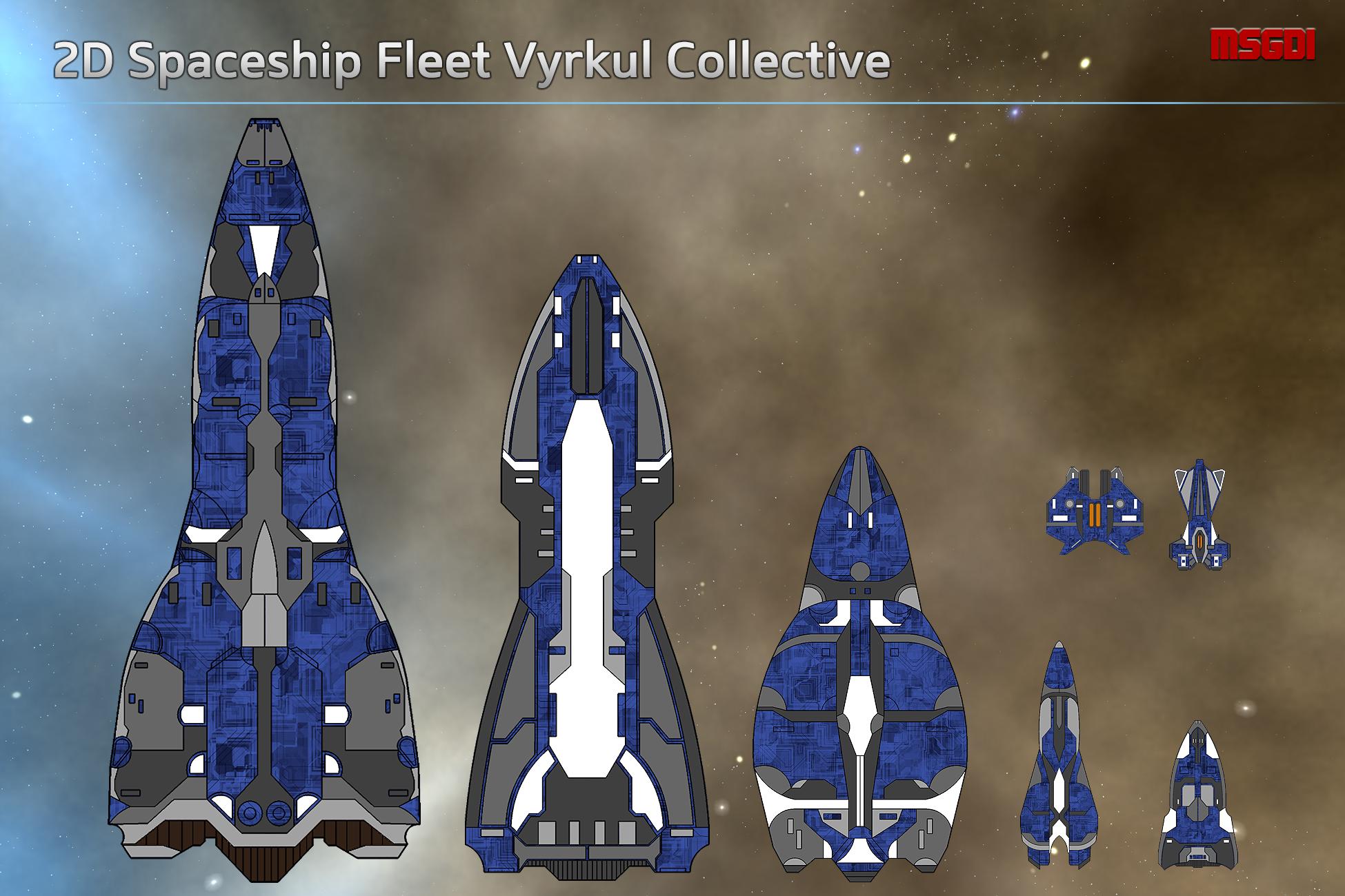 2d Spaceship