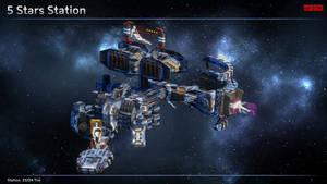 Scifi Pirate + Smuggler Station