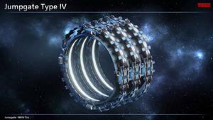 Scifi Jumpgate Type IV