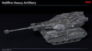 Scifi Hellfire Heavy Artillery