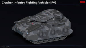 Scifi Crusher Infantry Fighting Vehicle