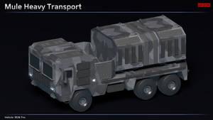 Scifi Mule Heavy Transport
