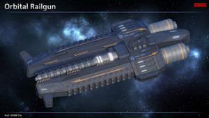 Scifi Orbital Railgun