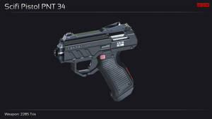 Scifi Pistol PNT 34