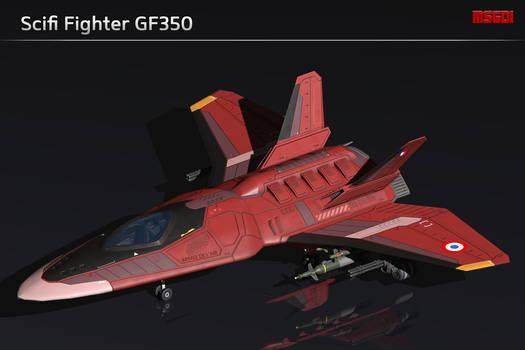 Scifi Fighter GF350
