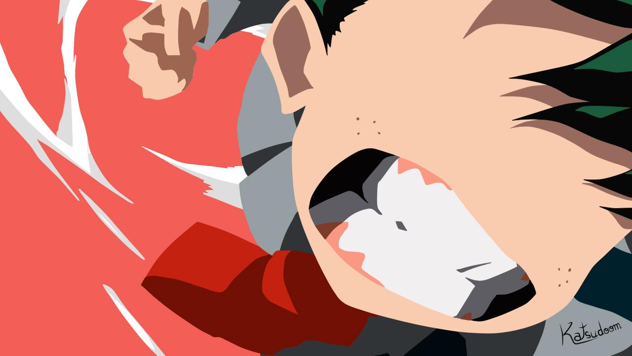 Boku No Hero Academia Wallpaper Izuku By Katsudoom On Deviantart