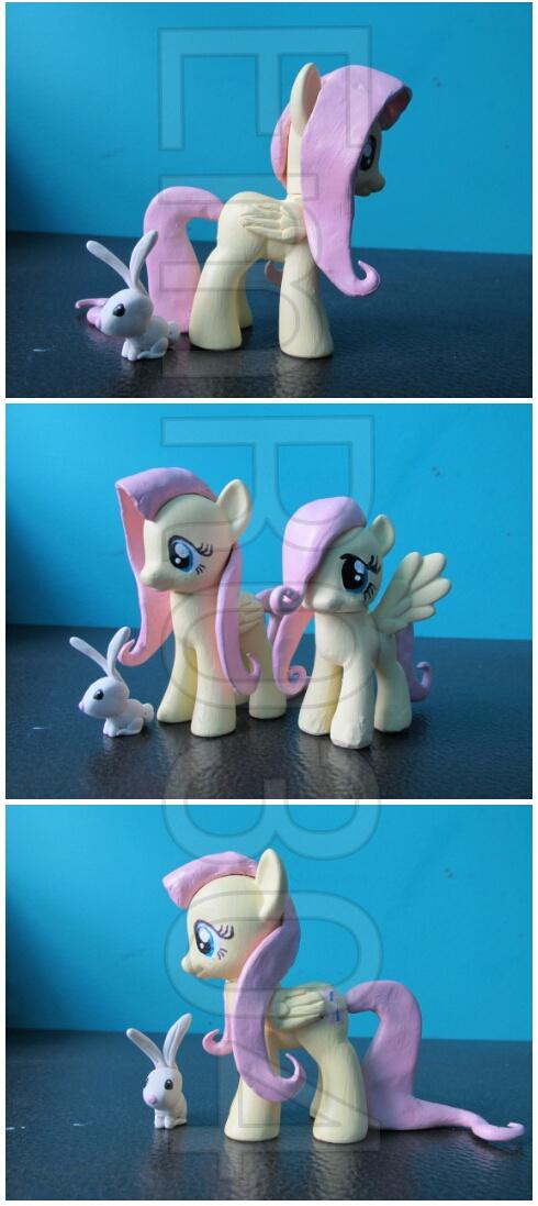 Fluttershy Custom G4 Pony by EmR0304