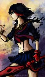 Ryuko Matoi. Kill La Kill by VeritasX5