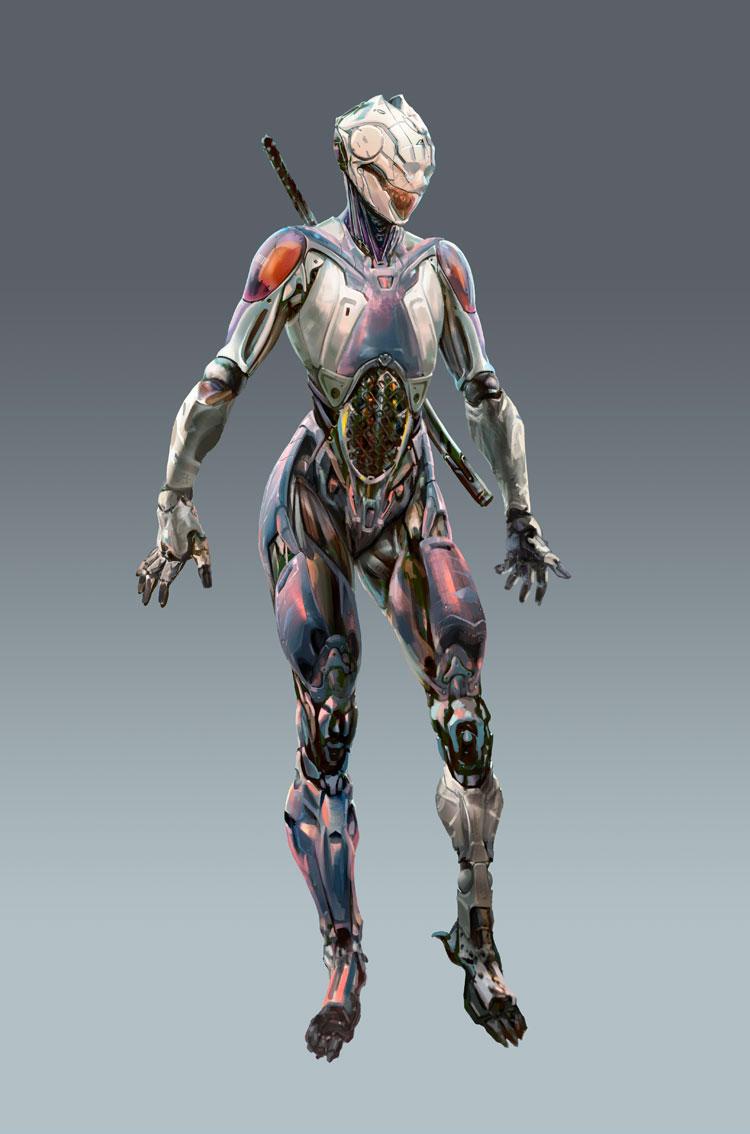 Rebirth: Cyborg Ninja by adijin on DeviantArt