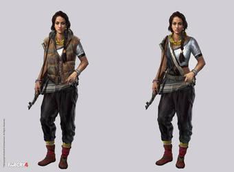 Far Cry 4 -  Amita by adijin